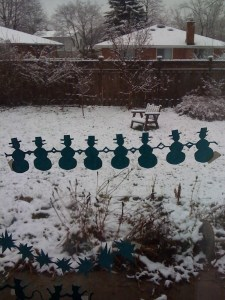 """""""snow-persons"""""""