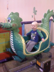 dragon ride at funmazing