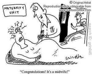 grin945l midwife cartoon