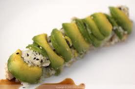 vegetarian dragon roll