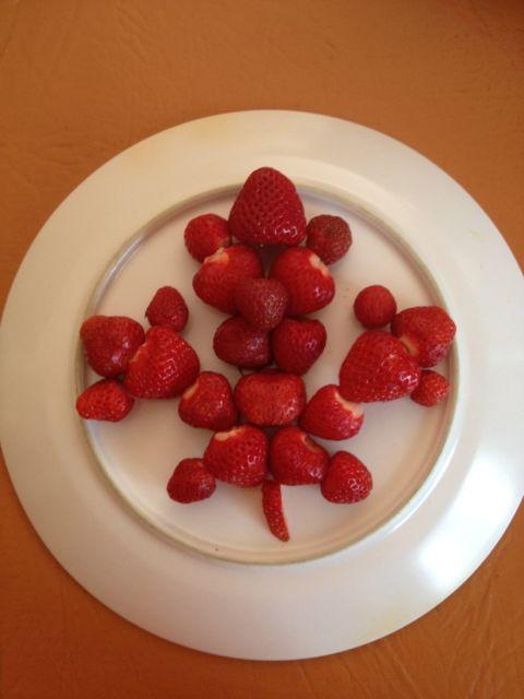 strawberry maple leaf