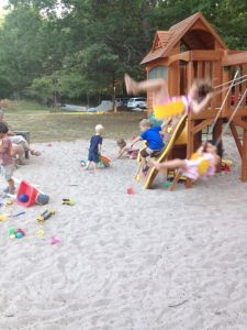 Simon Head Memorial Play Structure and sand pit