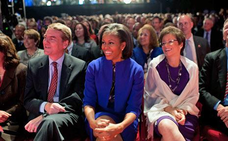 michelle obama campaign debate