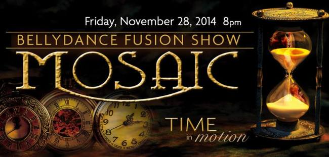 Invoketress Dance - Mosaic 10th Anniversary Bellydance Fusion Show