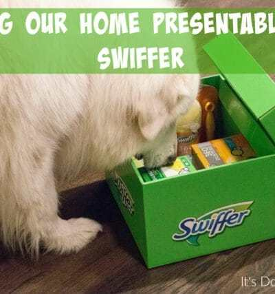 Keeping Our Home Presentable with Swiffer