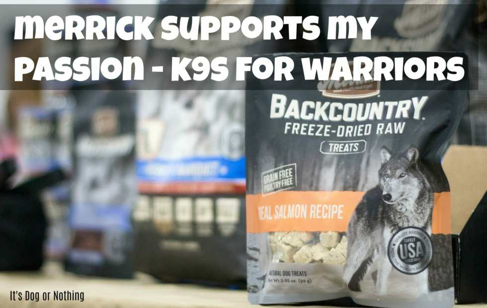 Ever wonder how you can support our military members and veterans? Merrick Pet Care has partnered with K9s for Warriors with their new Backcountry Hero's Banquet formula!