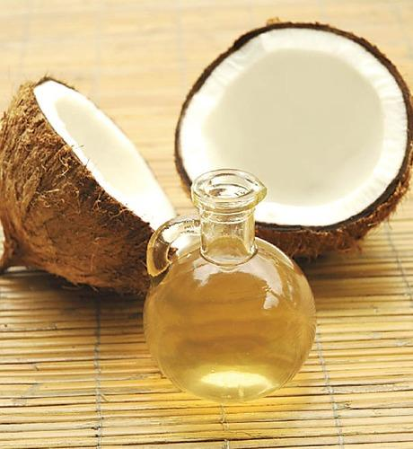 coconut-oil-for hair spa at home