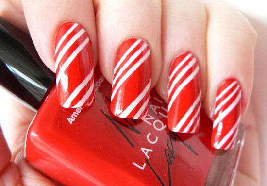 simple and easy nail art design srt-Designs-Ideas-2012-For-Beginners-Learners-4