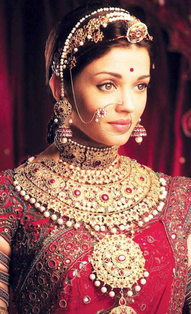 Indian Bridal Jewellery Aishwarya Rai Jodha Akbar