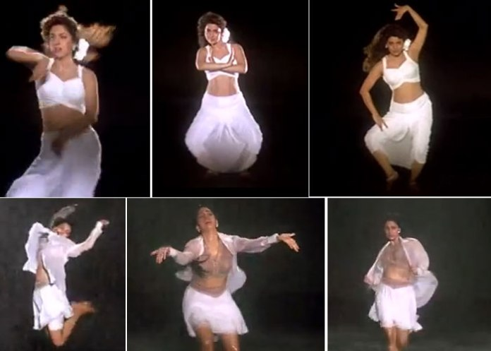 Bollywood Actress Dance Performance juhi chawla dance in darr