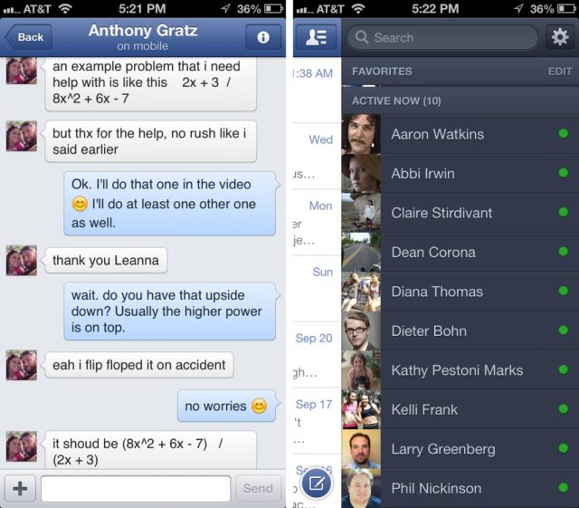 facebook-messenger iphone free download