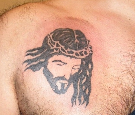 tattoo designs jesus face Tattoo-Designs-and-meaning-for-men