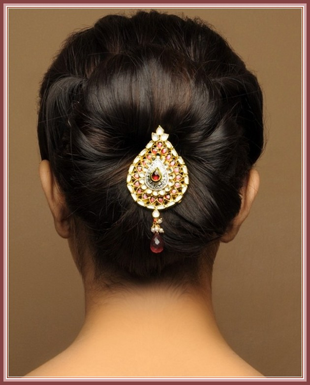 Wedding Hairstyles Indian: Bridal Hairstyles For Indian Wedding