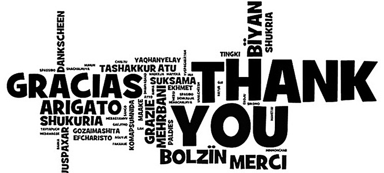 Incroyable ... Thank You Quotes In Different Languages