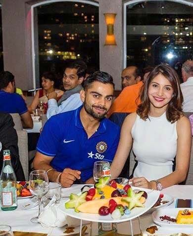 virat and anushka in sydney
