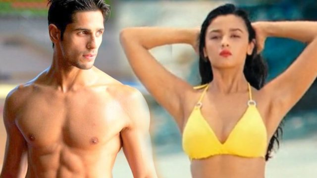 alia and sidharth in student of the year