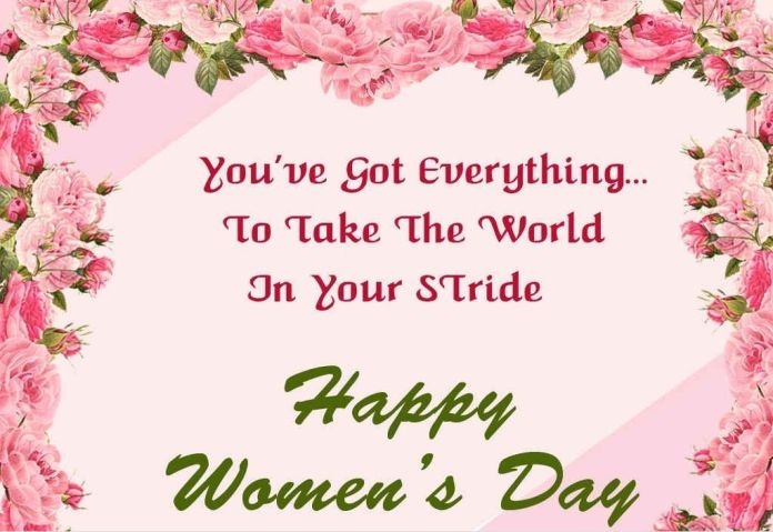 Happy Women's Day Images And Messages cards