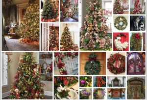 Christmas Holiday Home Staging/Styling
