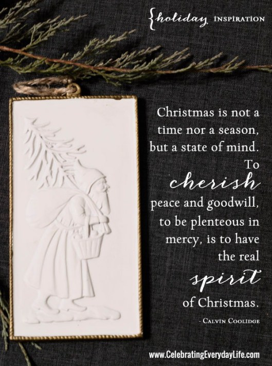Christmas Quote by Calivin Coolidge
