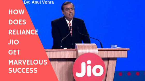 Reliance Jio success Story