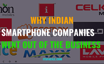 Why Indian Smartphone Companies went out of the business