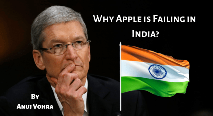 why Apple is failing in India