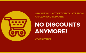 why no discount on flipkart and amazon