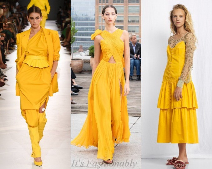 Trendy colors spring-summer 2019