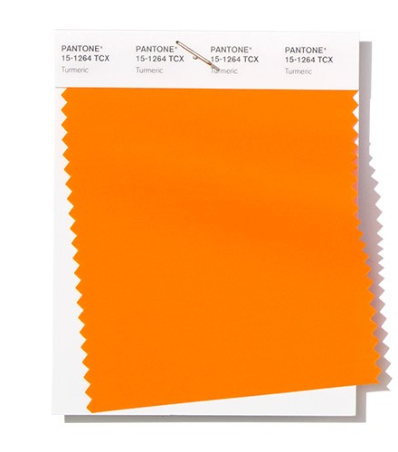 Trendy colors spring-summer 2019 version Pantone