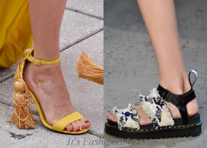 Fashionable shoes spring-summer 2019 photo