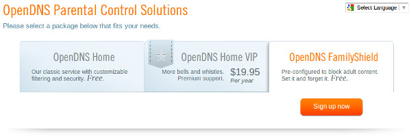 how to use opendns free