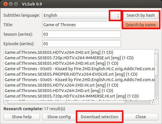 Download Subtitles Automatically With VLC in Ubuntu