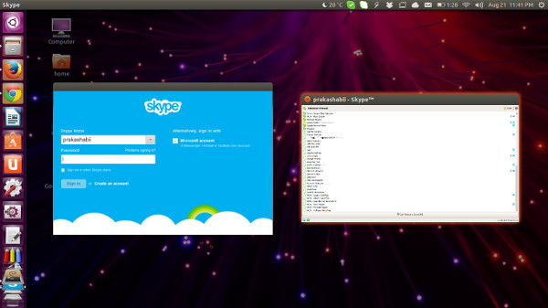 Run multiple Skype at the same time in Ubuntu Linux