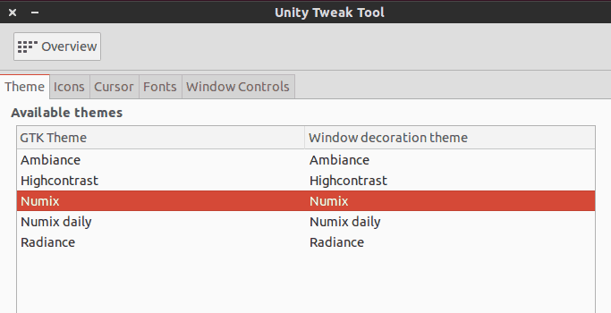 Install themes in Ubuntu 13.10