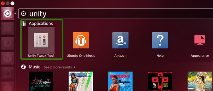Unity Tweak Tool in Ubuntu 13.10