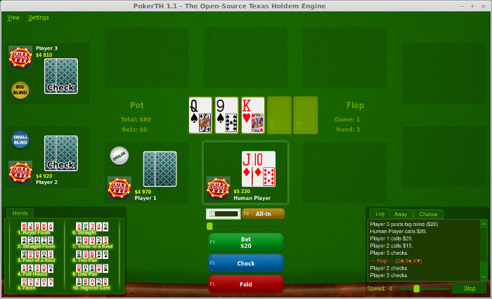Install Texas Holdem Poker Game In Ubuntu And Linux Mint It S Foss