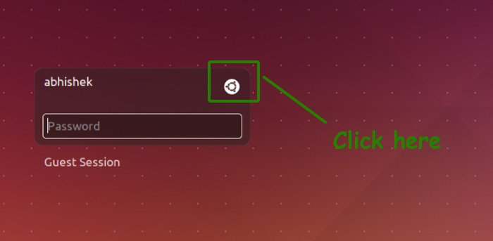 Change desktop environment in Ubuntu 14.04