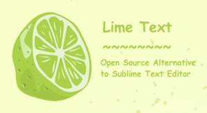 Lime Text Open Source Alternative of Sublime Text Editor