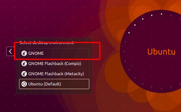 Use GNOME in Ubuntu 14.04