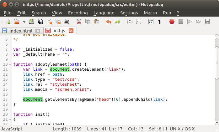 Notepadqq best alternative to Notepad++ in Linux