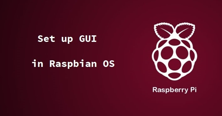 setup GUI by default in Raspbian OS