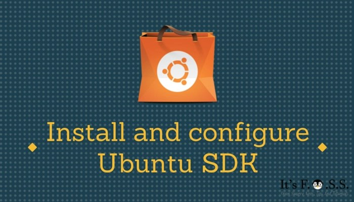 Install and configure Ubuntu SDK in UBuntu 14.04, 14.10, 15.04