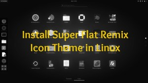 Super Flat Remix Icon themes Linux