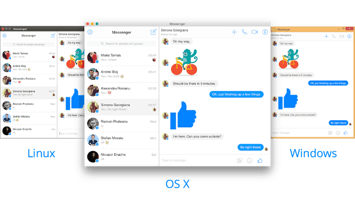 Install Facebook Messenger Desktop App In Linux - It's FOSS