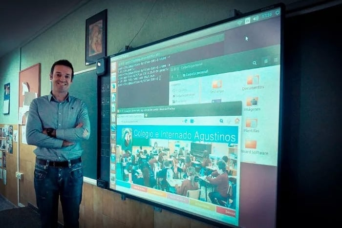 Spanish school switches to Ubuntu