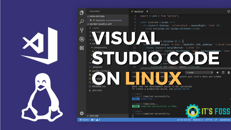 Installing Microsoft Visual Studio Code on Linux