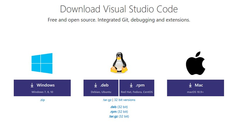 Install visual studio code in Linux