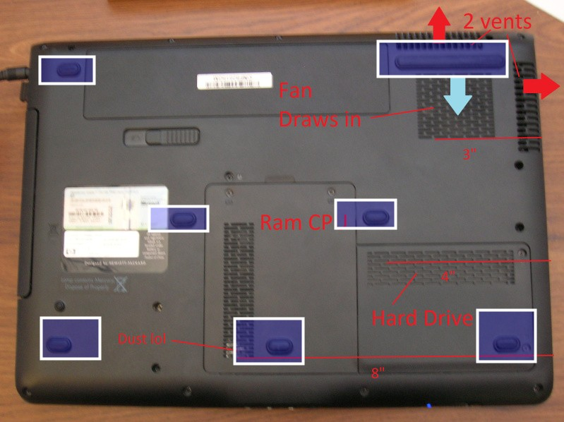 laptop bottom overheating