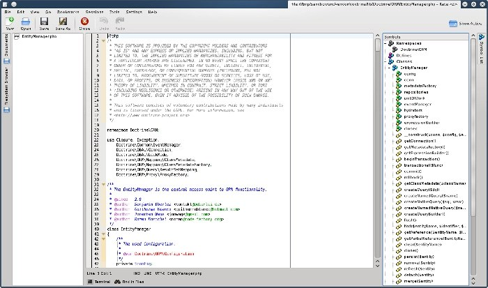 Kate Text Editor to replace Notepad++ in Linux