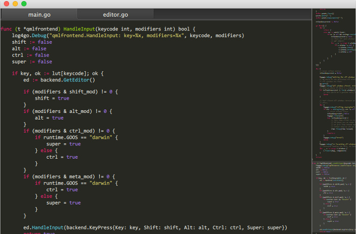 LimeText editor Linux is Open Source clone of SubLime Text